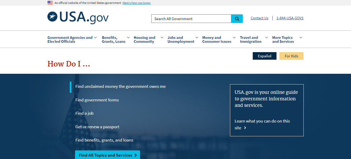 Official Guide to Government Information and Services   USAGov.png