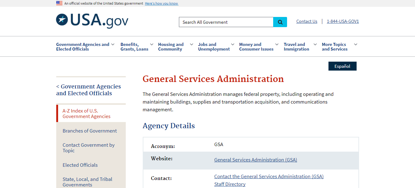 General Services Administration   USAGov.png